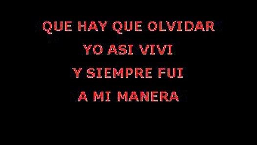Richie Ray y Bobby Cruz - A Mi Manera (Karaoke) - Vídeo ...