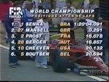 Gran Premio d'Ungheria 1989: Ritiro di Berger e sorpasso di Mansell ad A. Senna