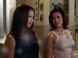 Alyssa Milano braless in Charmed
