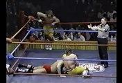 AWA World Tag Title Match: The Midnight Rockers (ch) vs. Adrian Adonis & Bob Orton 1988 01