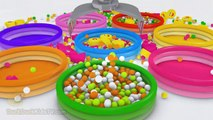 DuckDuckKidsTV    Learn Shapes for Children Baby Toddlers Kindergarten Kids 3D Colors Ball Pit Show