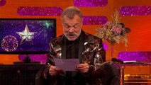 Michael Fassbender and James McAvoy create fan art The Graham Norton Show 2016: New Years