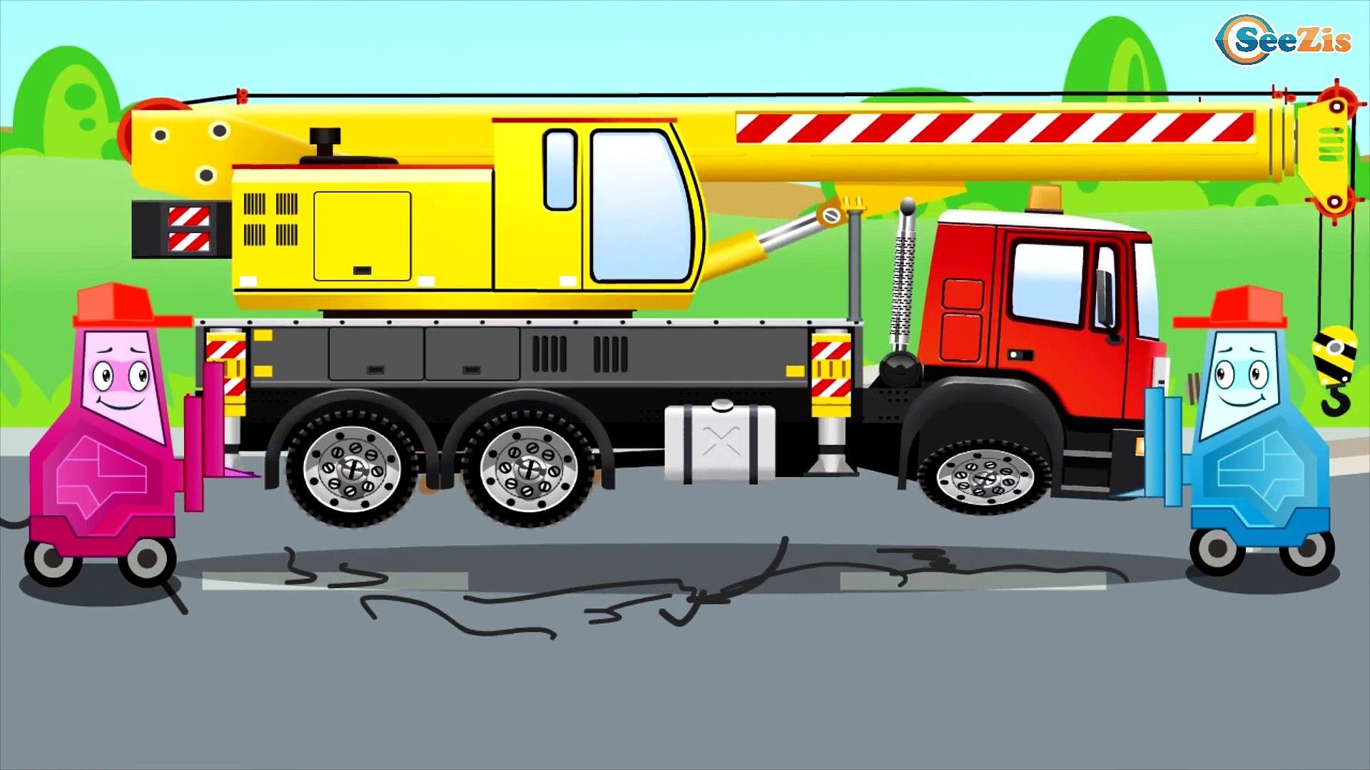 La Super Camion De Pompier Et Voiture De Police Avec L Ambulance