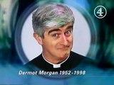 Tribute to Dermot Morgan caption (1998)
