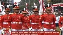 Detik-Detik Pengibaran Sang Merah Putih di Istana Merdeka