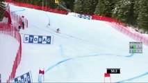 Erik Guay 3rd place in the Super G in Kvitfjell, Norway February 26, 2017