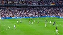 2017-08-16  هدف كريم بنزيما في مرمى برشلونه في مباراه الاياب  كاس السوبر