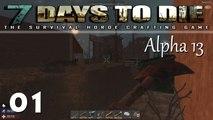 7 DAYS TO Die 1  Nachts durch die Wüste Lets Play Deutsch German Gameplay 7 Days to Die Alpha 13 Deutsch, 7 Days to Die Deutsch, 7 Days to Die Random,