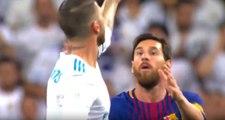 Real Madrid'li Ramos, Kendisinden Topu İsteyen Messi'yi Küçük Düşürdü