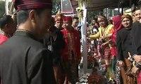 Megawati dan SBY Hadiri Upacara Pengibaran Bendera