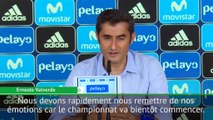 """Supercoupe d'Espagne - Valverde : """"Nous devons nous remettre de nos émotions"""""""
