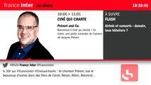 Sébastien Chenu au micro de Pierre Weill