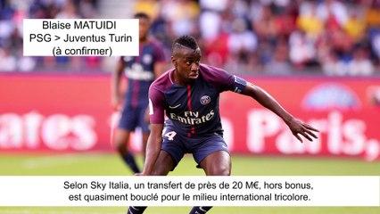 JT du Mercato (17/08/17) : Matuidi vers Juventus, Coutinho vers Barcelone, Bacca à Villarreal...