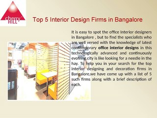 Top Interior Design Firms In Bangalore Video Dailymotion