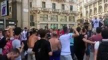 "Atmosfera nga ""Ballistet"" para ndeshjes ne Europa League mes Milanit e Shkendijes 1"