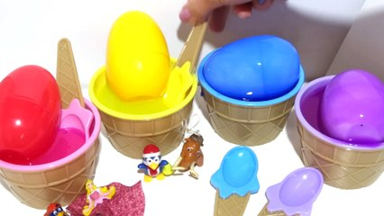 Learn The Colors with Slime Song - Baby in Surprise Egg - Color Songs for kids