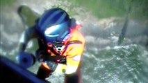 Woman Hoisted By Coast Guard Near Florence Oregon