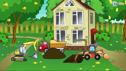 ✔ Camión, Excavadora   Dibujos animados   Caricaturas de carros. Carritos Para Niños ✔