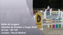Bahia de longpré*AEL (Newton de Kreisker x Fergar Mail) GP120 St Cast 2017