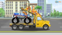 Policias dibujos animados. Policias en español - Carros policias animados. Carros niños policias