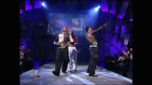 WCW Tag Team Championship: The Hardy Boyz © (w/ Lita) vs. Lance Storm and The Hurricane (w/ Ivory and Mighty Molly)