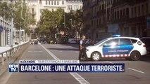 """Fourgonnette folle à Barcelone: """"C'était la panique totale"""", raconte un témoin"""