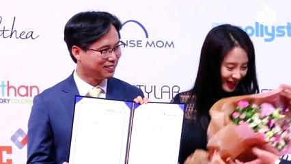 [Z영상] 송지효, 섹시한가요? 내가 바로 한류여신!(SONG JI HYO 한류박람회 홍보대사 위촉식)