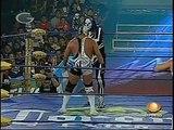 AAA-Sin Limite 2009.06.17 Ecatepec 05 Electroshock, Silver King & Teddy Hart vs. El Mesias, Jack Evans & La Parka