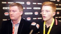 I NEVER REALLY WANTED MY SON TO BOX RICKY HATTON ON HIS SON CAMPBELL DOING HIS OWN THIN