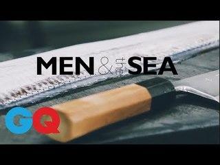 全台灣最難訂餐廳Raw x 首家米其林三星日本料理 祥雲龍吟 兩大主廚神手示範海鮮處理秘技|GQ Food