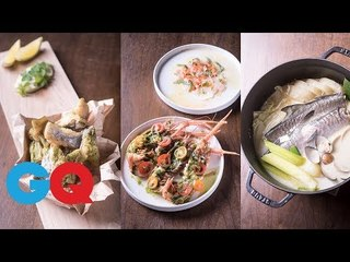 Raw、祥雲龍吟主廚對決:Raw主廚Alain魚料理篇【主廚海鮮料理東西軍#2】|GQ Food
