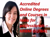 MIBM GLOBAL) Accredited Online Degrees and Courses in India for professionals