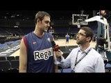 Pre-game interview: Erazem Lorbek, FC Barcelona Regal