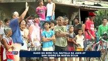 Kaso ng Bird Flu, naitala sa Jaen at San Isidro sa Nueva Ecija