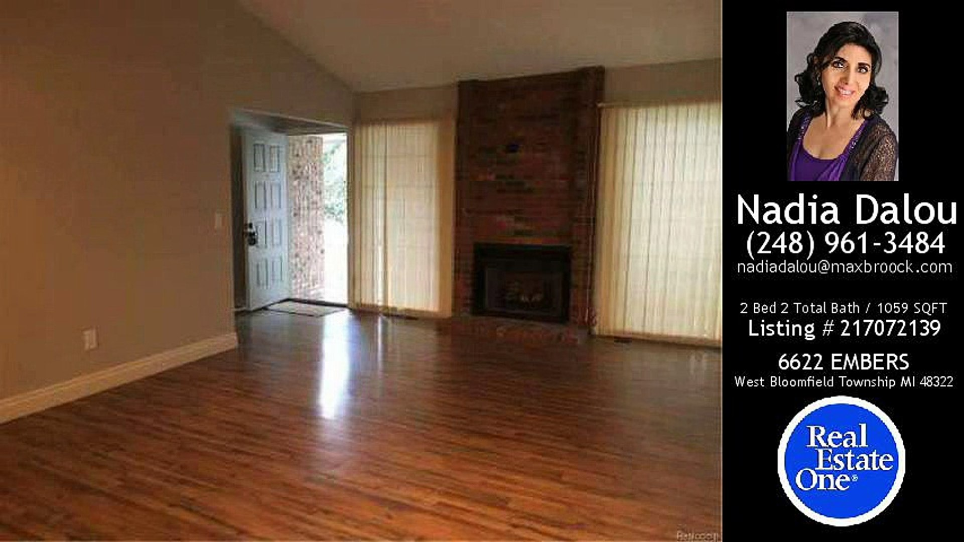 6622 EMBERS, West Bloomfield Township, MI - $1,700