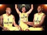 #IsingDevotion Players Contest: Joe Ingles, Devin Smith & Alex Tyus, Maccabi Electra Tel Aviv