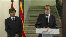 """Rajoy apela a """"trabajar juntos"""" contra el terrorismo para generar confianza"""