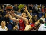 Highlights: CSKA Moscow-Panathiniakos Athens, Playoffs Game 1