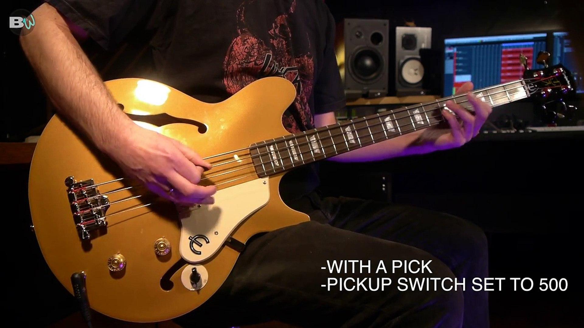 Bass Weekly Epiphone Jack Casady Bass