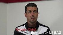 Retrouvez l'interview de Sylvain Didot avant la reprise de la Nationale 3 ce samedi à 18 heures face à Brest ⚫️