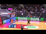 Eurocup Eighthfinals, FC Bayern Munich-Valencia Basket, Game 2: Rafa Martinez steal and lay-up