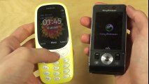 Nokia 3310 2017 vs. Sony Ericsson W910i - Which Is Faster