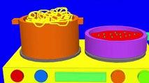 Apprendre les couleurs et des noms de les légume avec jouet cuisine nourriture dessin le potage cuisine Apprendre