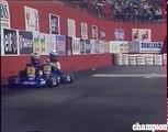 Ayrton Senna Vs Alain Prost Master Karting de Bercy GoKart