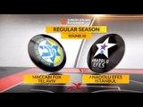 Highlights: Maccabi FOX Tel Aviv-Anadolu Efes Istanbul