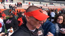 Gary Andersen after Oregon State Beavers wrap up spring football