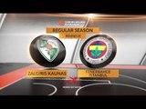 Highlights: Zalgiris Kaunas-Fenerbahce Istanbul