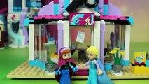 Princesse Elsy glace du château de glace terrestre construire Lego Disney 41062