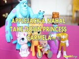 APPLEJACK & NAHAL TAKE DOWN PRINCESS CARMELA SULLEY SYLVANIAN FAMILIES CARMELA LA CREME YELLOW RANGER Toys BABY Videos,