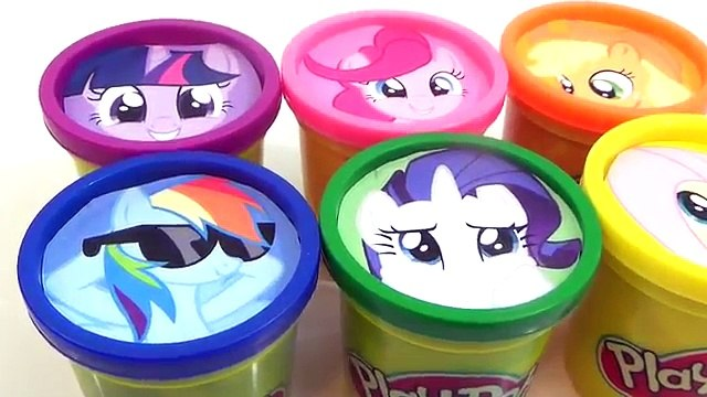 My Little Pony Playdoh Toy Surprises, Learn Colors with MLP, Shopkins / TUYC